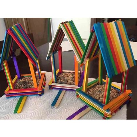 how popsicle sticks can be used
