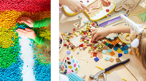 Eco-friendly arts and crafts ideas for kids