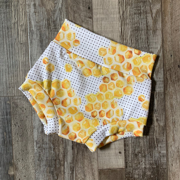 Honeycomb High Waisted Bummies