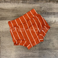 Terracotta High Waisted Bummies