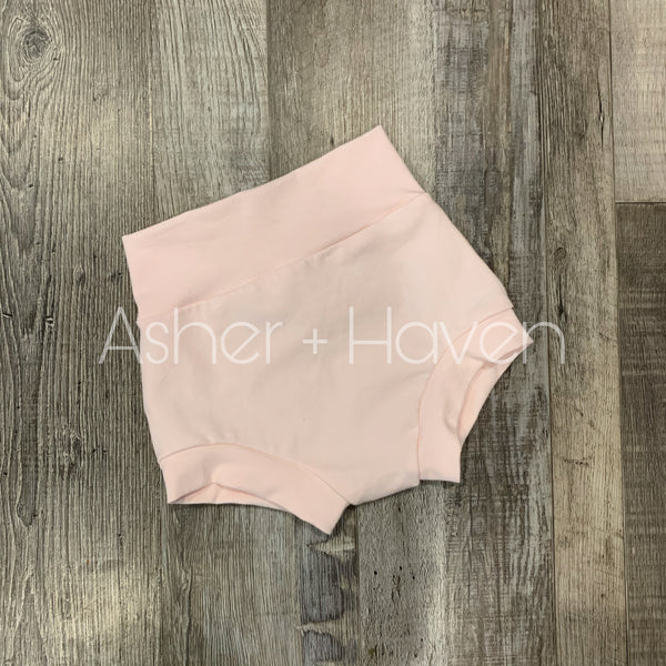 Blush High Waisted Bummies