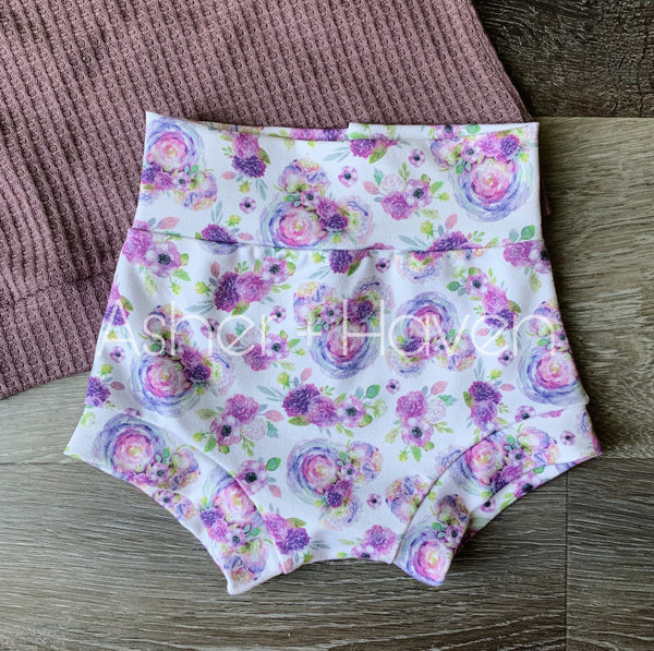 Magical Mouse Floral High Waisted Bummies