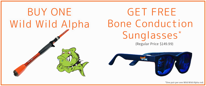 Buy One Alpha, Get a pair of Free Sunglasses!