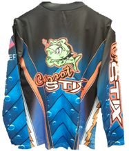 Load image into Gallery viewer, Long Sleeve Carrot Stix Fishing Jersey