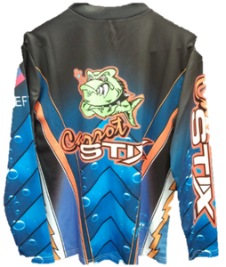 Carrot Stix Long Sleeve Fishing Jersey