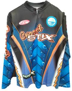 Long Sleeve Carrot Stix Fishing Jersey