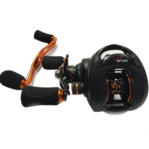 CCX2001-C2 Coral Series Casting Reels - Right Retrieve 2-Speed