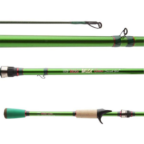 Wild Wild Green Pro Medium Moderate 2-Piece  fishing rod