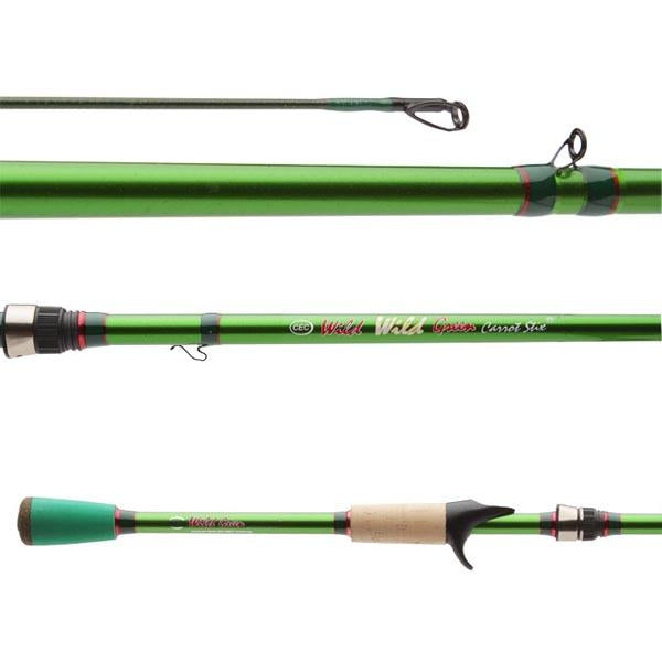 Wild Wild Green Pro Medium Heavy Fast 2-Piece  fishing rod