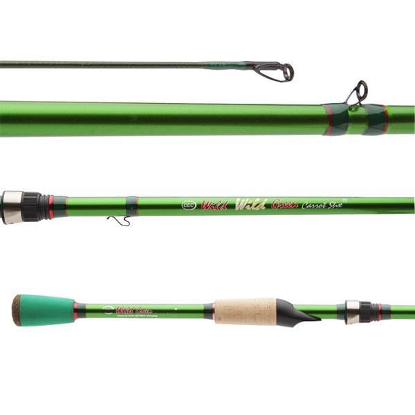 Wild Wild Green Pro Medium Lite Fast 1-Piece  fishing rod
