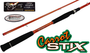 "C2WX-1062M-MF-S - Wild Orange Giant 2-Piece Spinning Rod 10'6"" Med Mod Fast"
