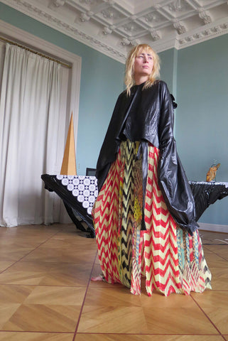 DUMITRASCU WRAP SKIRT COUTURE