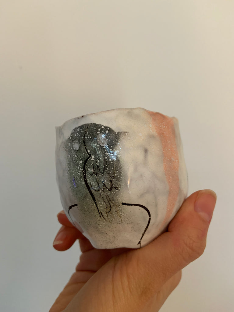 Limited Art Edition Ana Botezatu Ceramic Cup 17