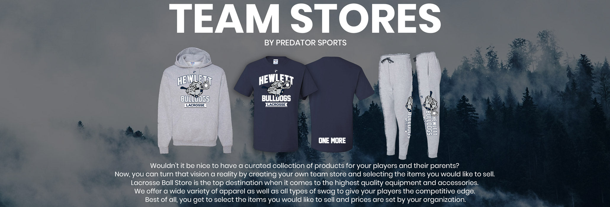 Lacrosseballstore Team Store Pages
