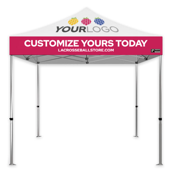 Custom Sublimated  10'x10' Aluminum 40 Series Popup Tent