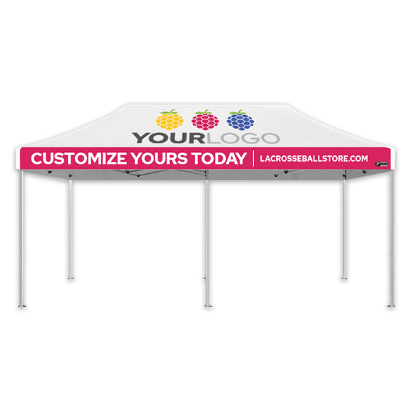 Custom Sublimated Canopy Tent - Aluminum 40 Series