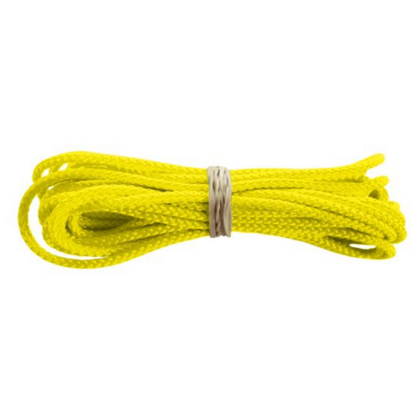 Jimalax Crosslace by 10 yard segment neon yellow