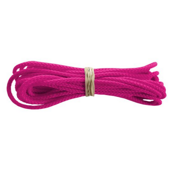 Jimalax Crosslace by 10 yard segment neon pink