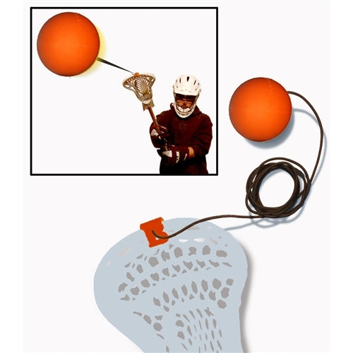 b Lax blast lacrosse rebounder orange