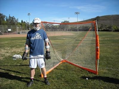 Bownet Portable Lacrosse Goal with Player