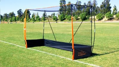 Bownet Field Hockey Official Size Goal Side View