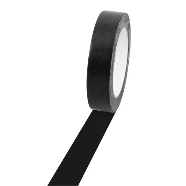 Vinyl Floor Tape 1 inch x 36 Yards Black