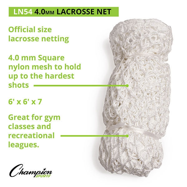 Champion 4mm Lacrosse Goal Replacement Net