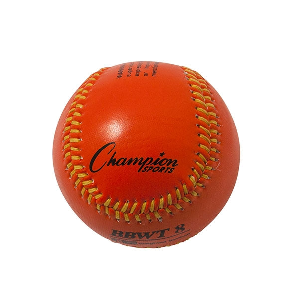 Weighted Training baseballs orange