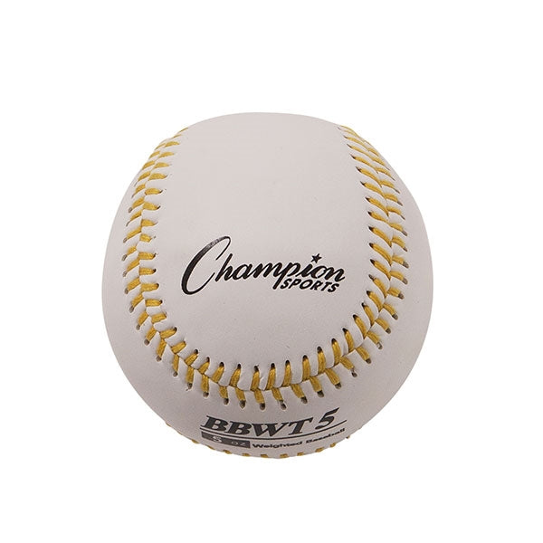 Weighted Training baseballs white