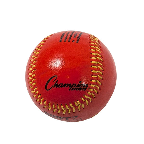 Weighted Training baseballs red