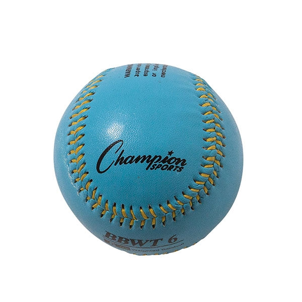 Weighted Training baseballs blue