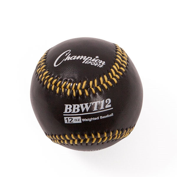 12 oz weighted baseball