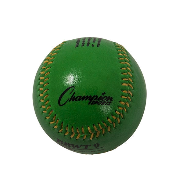 9 oz weighted baseball green