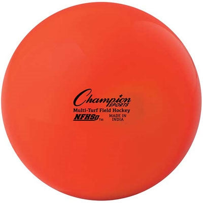 Champion Sports NFHS Multi-Turf Field Hockey Balls Orange