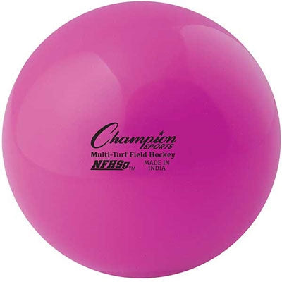 Champion Sports NFHS Multi-Turf Field Hockey Balls Pink