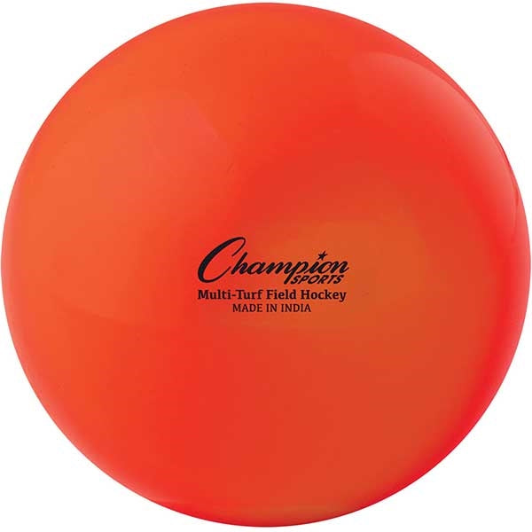 Champion Sports Multi-Turf Field Practice Hockey Balls Orange