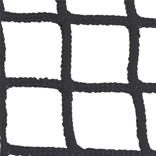 7 mm Weather Treated Lacrosse Net Black