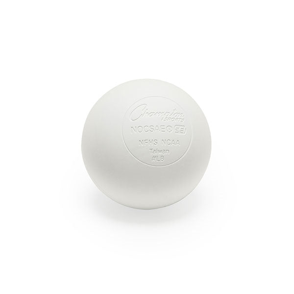 Champion Lacrosse Game Ball White