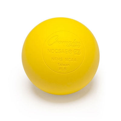 Champion Lacrosse Game Ball Yellow