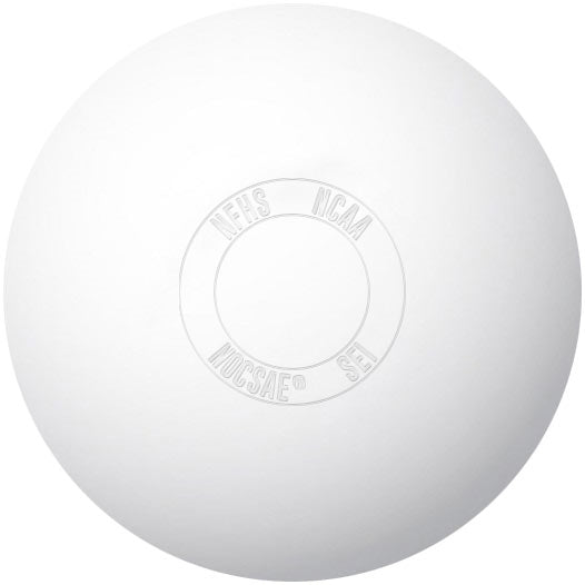 Lacrosse Game Ball White