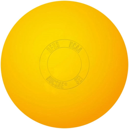 Lacrosse Game Ball Yellow
