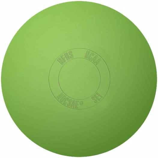 Lacrosse Game Ball Green