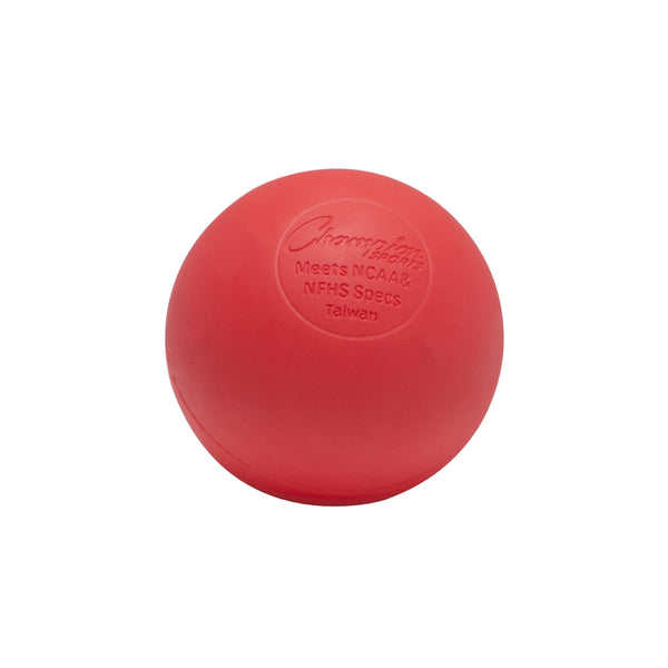 Red Lacrosse  Ball