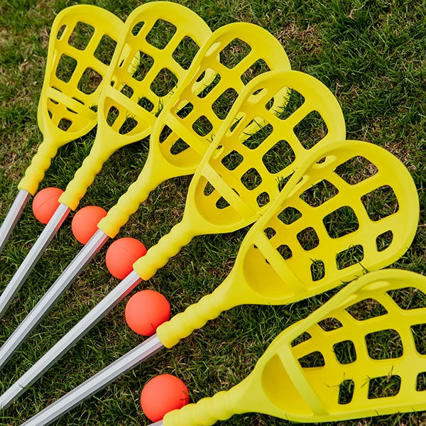 Champion Rhino Skin Lacrosse Set Heads and Balls