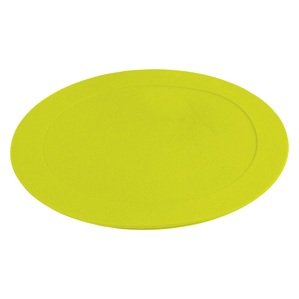 "Champro 7.5"" Diameter Flat Disc Markers - 10 Pack-Optic Yellow"