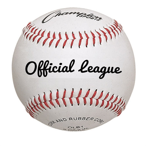 Case 120 Champion Sports OLB1 Official League Baseballs