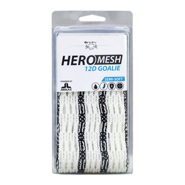 ECD Lacrosse Semi Soft Hero Mesh 12D Goalie Striker