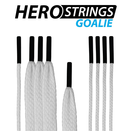 ECD Lacrosse Goalie Hero Strings Kit White