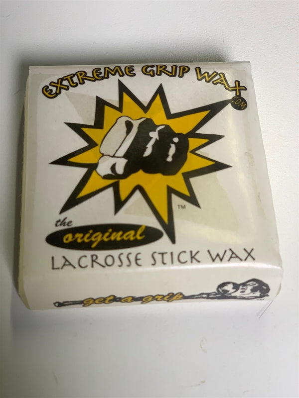 Extreme Grip Wax for Mesh Lacrosse Pockets
