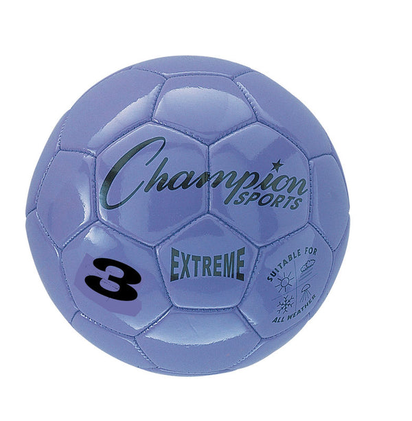 Extreme Soccer Ball  Size 3 Purple